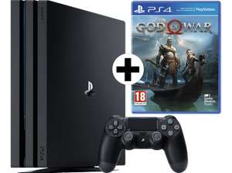 [Mediamarkt] Sony PlayStation 4 (PS4) Pro 1TB + God of War um 370,81€