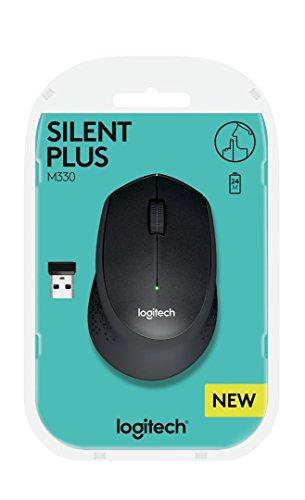 "Logitech ""M330 Silent Plus"" geräuschlose Maus"
