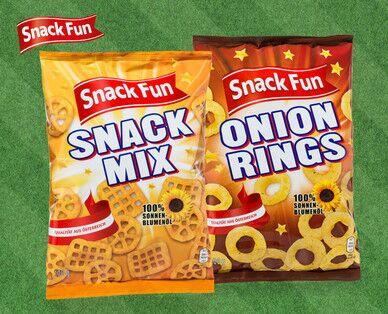[Hofer] Snack Fun Snack Mix oder Onion Rings für 0,69 € - ab Montag