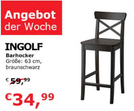 "IKEA Wien Vösendorf: ""Ingolf"" Barhocker"