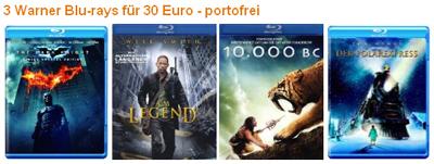 Neue Blu-ray Aktionen bei Amazon