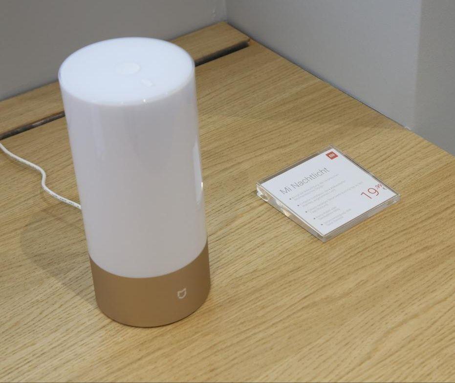 Xiaomi Mijia Nachttischlampe (WiFi-Version) für 19,99€ im Xiaomi Store in Wien