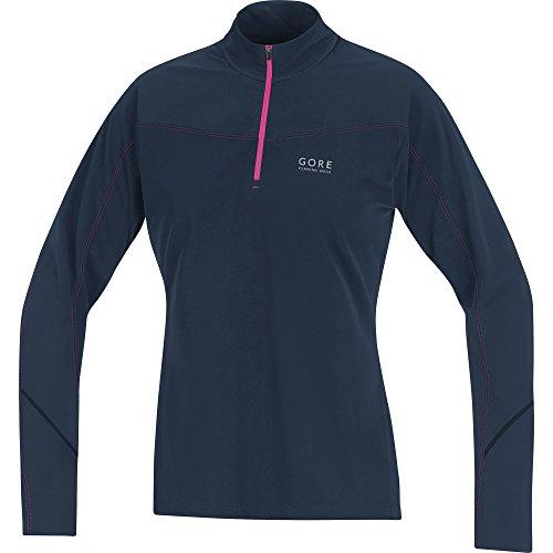 19 ° Gore Running Wear Damen Warmes Thermo-Langarm-Laufshirt