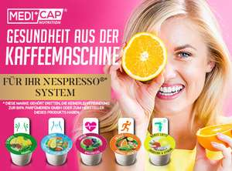 MediCap  (Detox, Immun, Energy und Bones Kapseln) für Nespresso