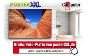 Computerbild Aktion: 25€ Gutschein für Fotoplatten (+ 10€ Versand) - Panoramaplatte 60x30cm für 11€ und mehr