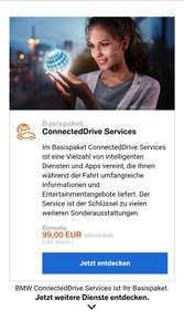 BMW Connected Drive Services stark reduziert