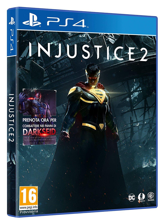 Amazon.it: Injustice 2 (PlayStation 4) für 13,65€