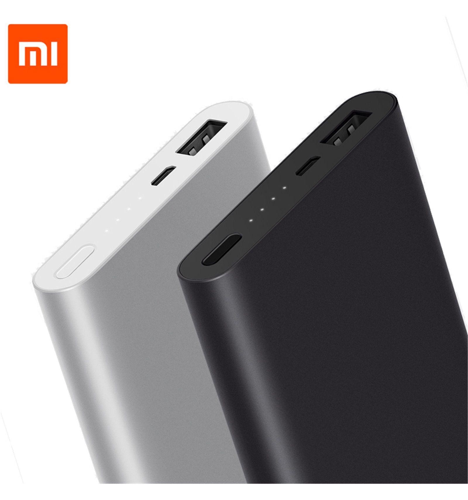 Xiaomi 10000mAh Powerbank 2 - Slim für 11,68€ inkl. Versand