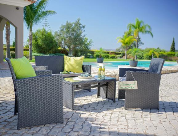 Kleine Lounge zum kleinen Preis