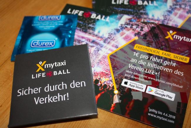 10€ myTaxi Gutschein [LIFEBALL18]