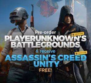 PlayerUnknown's Battlegrounds (Xbox One Digital Code) + Assassin's Creed: Unity (Xbox One Digital Code) für 10,82€ (CDKeys)