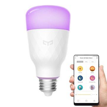 [Banggood] Xiaomi Yeelight YLDP06YL E27 10W RGBW Smart LED Bulb für 15,49 € statt 21,29 €