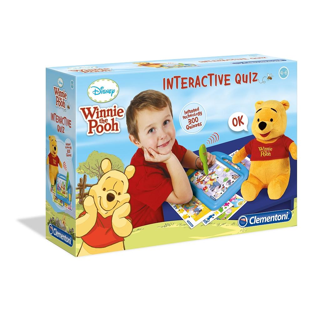 Clementoni - Winnie Puuh: Interaktives Quiz 7,95 Euro inkl VSK bei Toys R Us