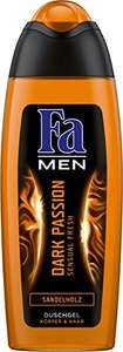 6x Fa Duschgel Men Dark Passion Sensual Fresh