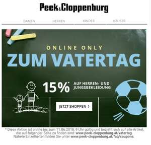 Peek & Cloppenburg - Vatertag