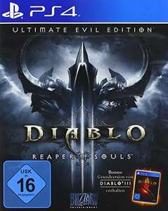 Diablo III - Ultimate Evil Edition (PlayStation 4 / Xbox One) für 11,99€