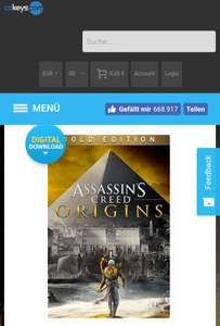 Assassins Creed Origins (Gold Edition) [PC]