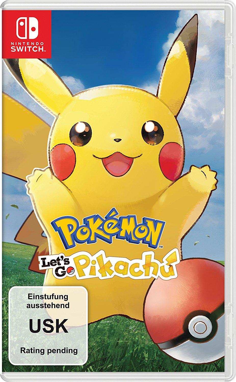 Nintendo Switch Pokémon: Let's Go Pikachu!/Evoli! für 37,76 EUR und Pokéball Controller für 32,97 EUR