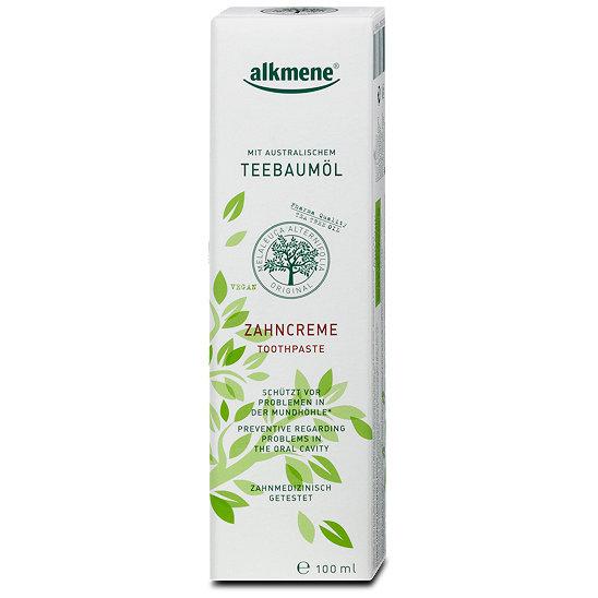 DM: alkmene - vegane Zahncreme mit australischem Teebaumöl