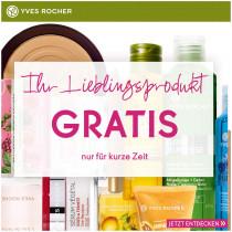 Yves Rocher: Produkt nach Wahl kostenlos + keine Versandkosten ab 20€