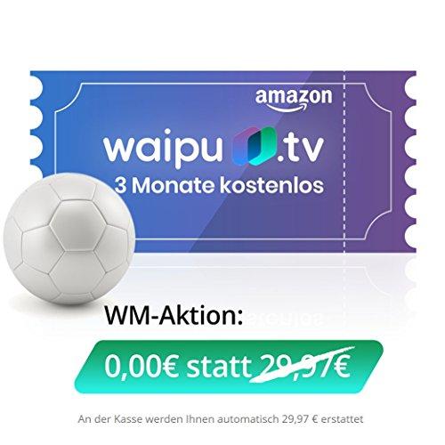 Waipu TV KOSTENLOS als Blitzangebot 3 Monate gültig!