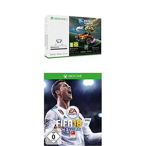 Xbox One S 500GB Konsole + Rocket League + FIFA 18