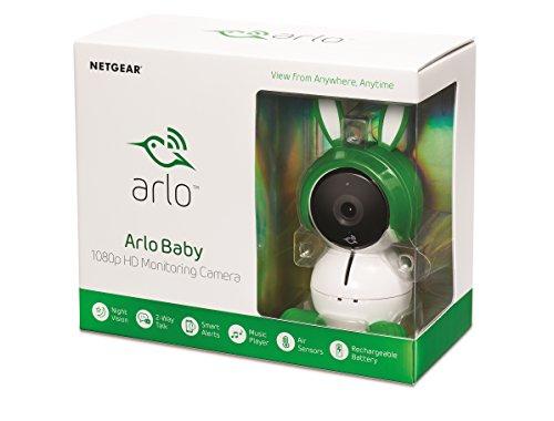 """Netgear """"Arlo Baby"""" Sicherheitskamera (FHD, 2-Wege Audio, Musik-Player, Nachtlicht, Luftsensoren)"""