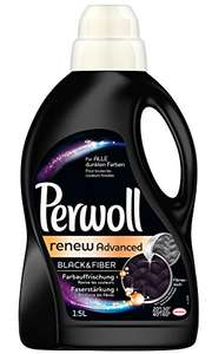 www.AMAZON.de  6 Liter Perwoll Schwarz & Faser renew Advanced, 4er Pack (4 x 1,5 L) Plus Produkt