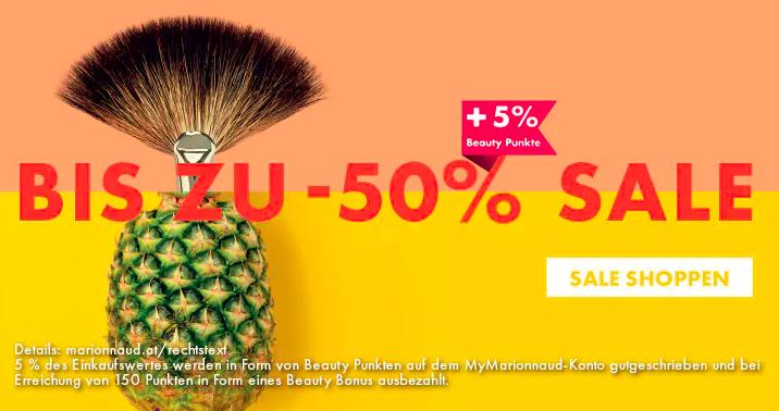 Marionnaud: Bis zu -50% beim Summer SALE