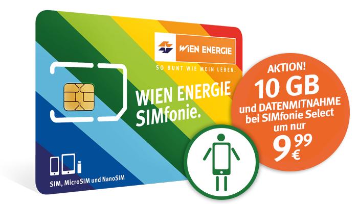 "Wien Energie Mobil ""Simfonie"": neue Tarife - zB 1500 Min/SMS + 10GB um 9,99 €"