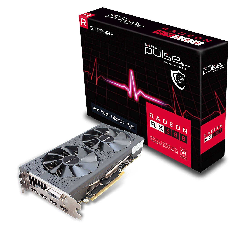 AMD Sapphire Pulse Radeon RX 580 4GB