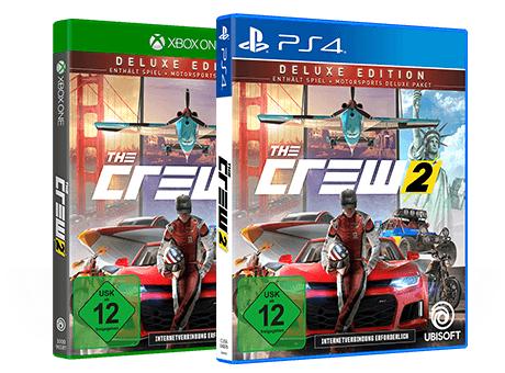 The Crew 2 Deluxe Edition (PS4 / Xbox One) für 39,99€ - nur für GameStop+ Level 3 Mitglieder