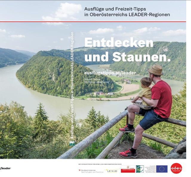 Kostenlose Broschüre für Ausflüge in Oberösterreich
