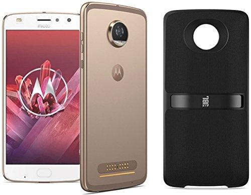 Motorola Moto Z2 Play (64 GB) + JBL SoundBoost 2 Speaker + Moto Smart Lautsprecher mit Amazon Alexa