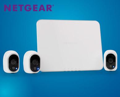 Netgear Arlo Kabelloses Heim-Überwachungs-Kamerasystem (3 HD Cams)