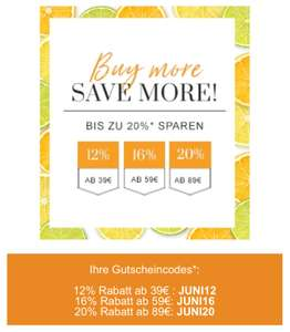 FLACONI Buy more, save more! JUNI AKTION