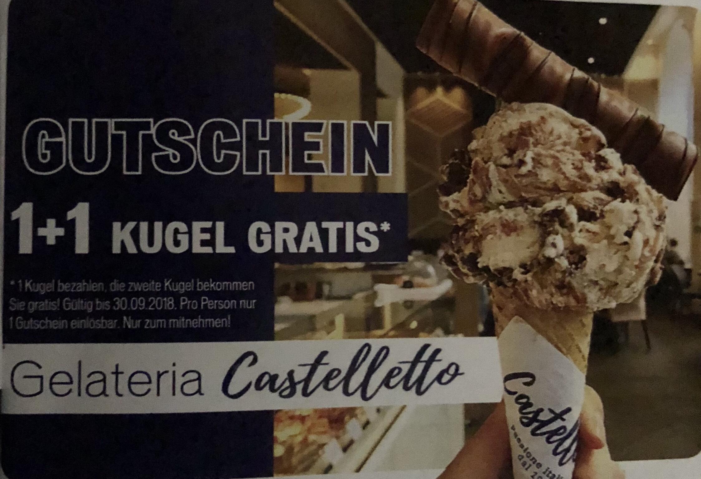 Bestes Eis in Wien 1+1