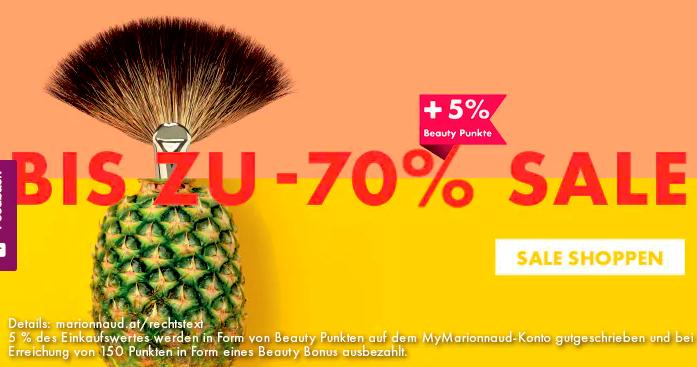 Marionnaud: Bis zu -70% beim Summer SALE