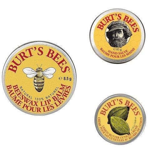 WIEDER DA: Burt's Bees Bundle: Lippenbalsam + Nagelhautcreme + Handsalbe