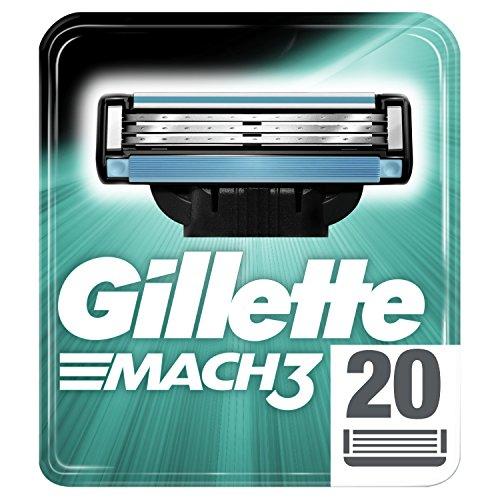 20x Gillette Mach3 Rasierklingen - nochmal 12% billiger als im Abverkauf