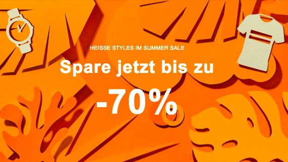 Zalando: Bis zu -70% Summer-Sale für Frauen, Männer & Kinder