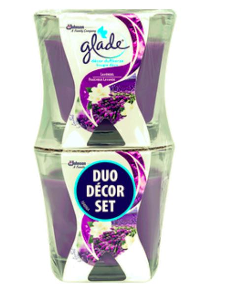 Bipa & Billa: glade Décor Duftkerzen 2 Stück - verschiedene Duftnoten
