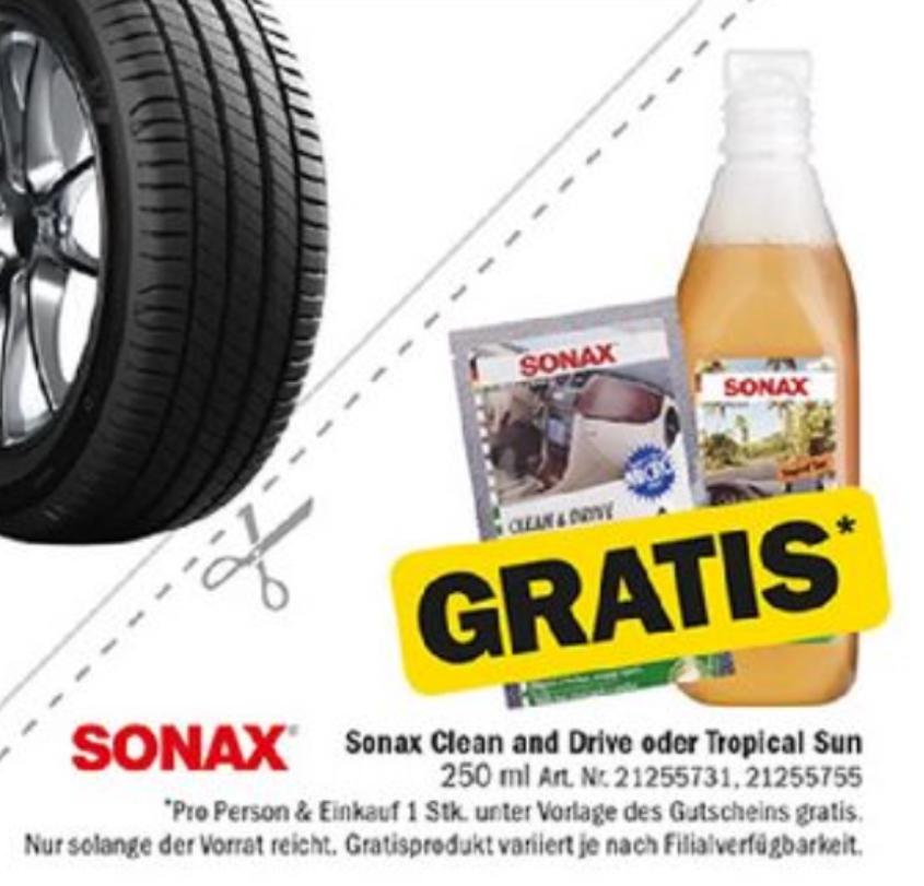 Forstinger: GRATIS Sonax Pflegeprodukt