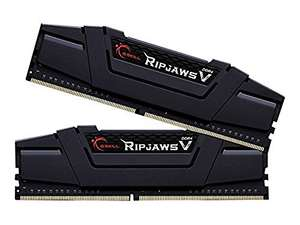 Amazon.fr: G.Skill RipJaws V schwarz Kit, 8GB, DDR4, um 59,61€ vorbestellen