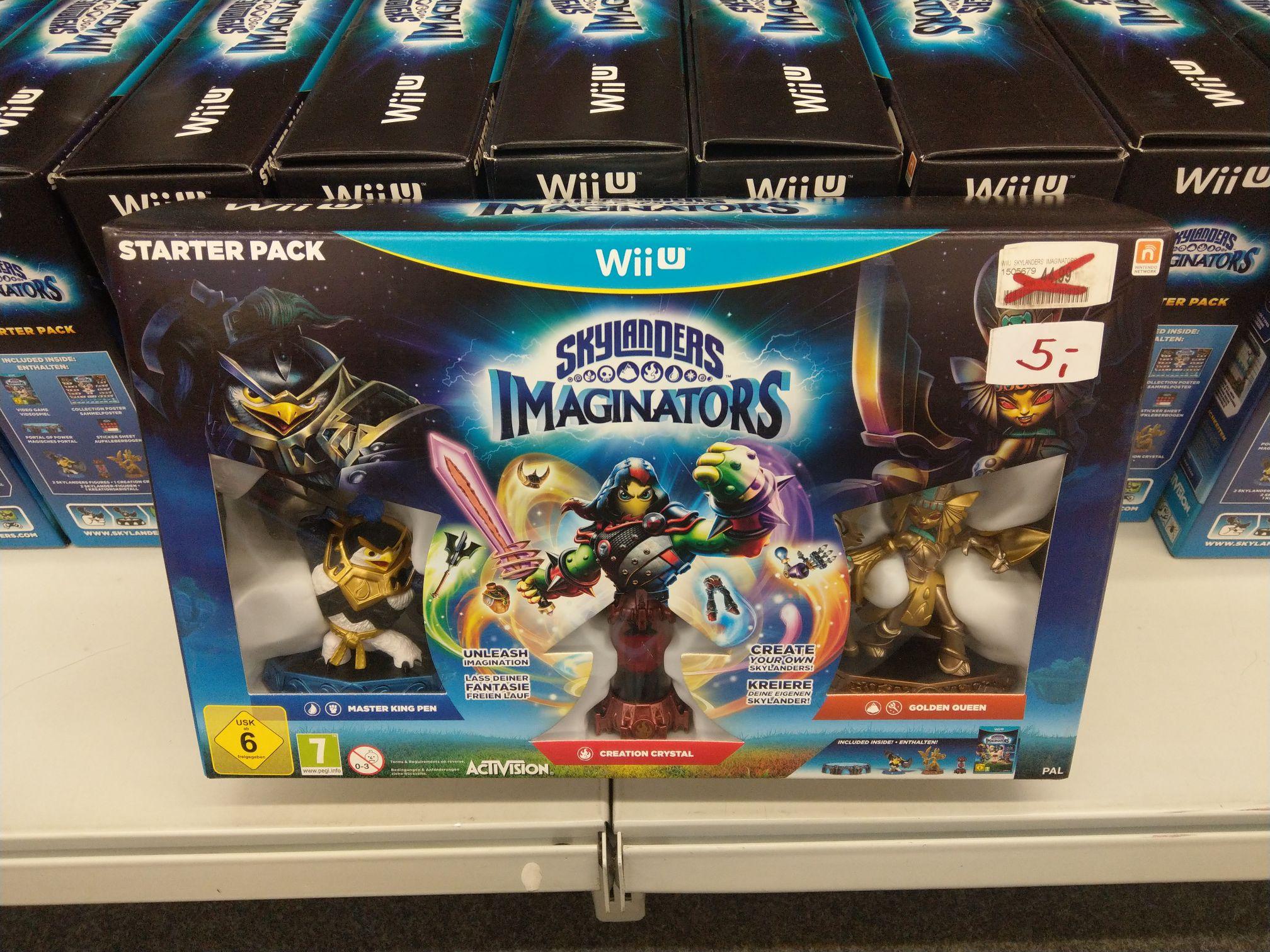 WiiU Skylanders Imaginators Starter Pack (Lokal)MM Hietzing