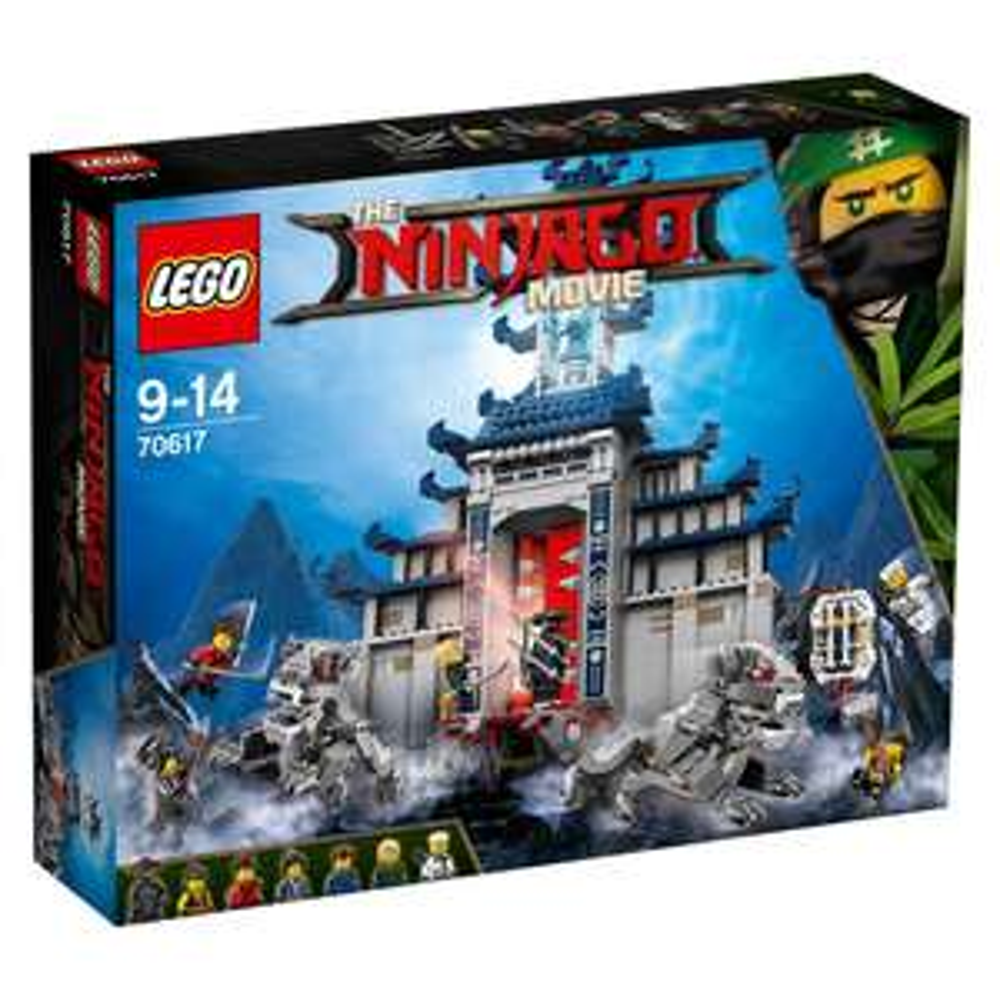 LEGO The Ninjago Movie - Ultimativ ultimatives Tempel-Versteck (70617) - (!) 1403 Teile für 43,90€