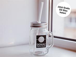 Gratis Donau Zentrum Glas - nur am 6. Juli ab 14 Uhr für Premium Mitglieder