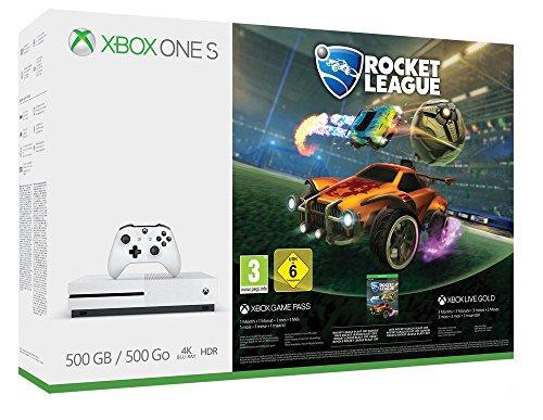 Xbox One S 500GB Konsole Rocket League oder Assassins's Creed Origins Bundle