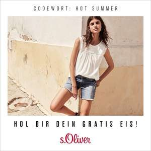 s.Oliver - the Mall: gratis Eis