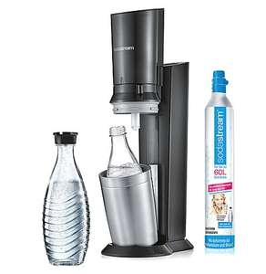 Brands4Friends: SodaStream Crystal 2.0 titan um 76,49€